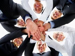group happy